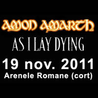Amon Amarth + As I Lay Dying - Bilete ©