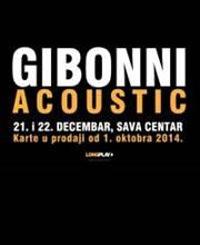 Gibonni Acoustic - Ulaznice - ©Gibonni620x300