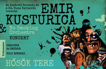 Emir Kusturica &The No Smoking Orchestra