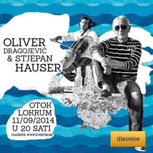 Oliver Dragojević i Stjepan Hauser - Tickets - ©