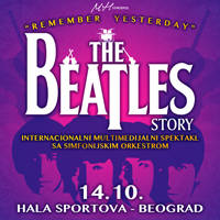 REMEMBER YESTERDAY - The BEATLES Story - Ulaznice ©