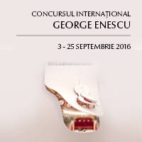 CONCURS INTERNATIONAL GEORGE ENESCU 2016 - Bilete ©