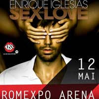 Enrique Iglesias - Sex and Love - Bilete ©