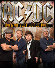 AC/DC - Rock or Bust World Tour 2015 - Tickets