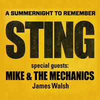 Sting + Mike and the Mechanics - Tickets ©