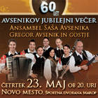 60 LET, AVSENIKOV JUBILEJNI VEER - Vstopnice