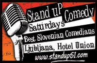 Stand up in English - Vstopnice 