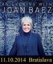 An Evening With JOAN BAEZ - Vstupenky - ©