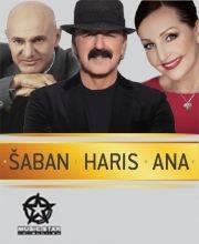 Haris Džinović / Ana Bekuta / Šaban Šaulić