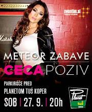 METEOR ZABAVE - CECA - Ulaznice - ©