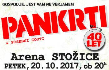 Koncert PANKRTI 40. LET