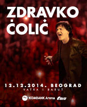 Zdravko Čolić - Ulaznice - ©ZC620x300