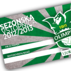 NK OLIMPIJA - POLSEZONSKA VSTOPNICA - Vstopnice