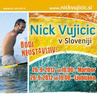 NICK VUJICIC - Bodi neustavljiv! - Vstopnice 