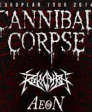 Cannibal Corpse / Revocation / Aeon - Ulaznice