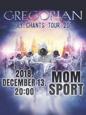Gregorian: Holy Chants Tour 2018