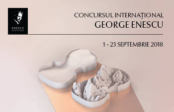 CONCURS INTERNATIONAL GEORGE ENESCU 2018
