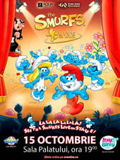 SMURFS LIVE ON STAGE - Piticii Albastri