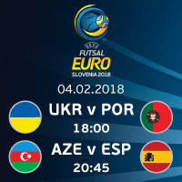 UKR vs POR || AZE vs ESP - Tickets ©