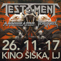 TESTAMENT, ANNIHILATOR, DEATH ANGEL - Ulaznice ©