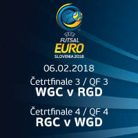 QUARTER F.- WC v RUD/QF3 || RUC v WD/QF4 - Tickets ©