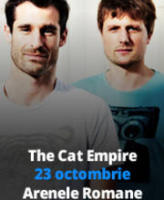 THE CAT EMPIRE - Bilete
