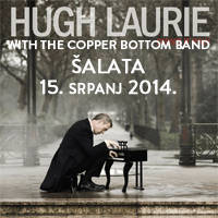 Hugh Laurie with The Copper Bo