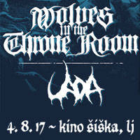 WOLVES IN THE THRONE ROOM - Vstopnice ©