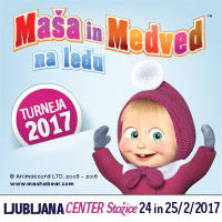 MAŠA IN MEDVED NA LEDU - Tickets ©