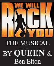 WE WILL ROCK YOU - The Musical by Queen - Ulaznice - 