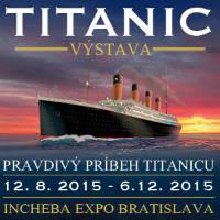 Svetová výstava Titanic - Tickets ©