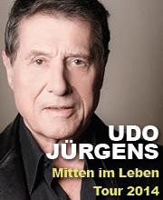 Udo Jürgens -  Mitten im Leben Tour 2014 - Tickets