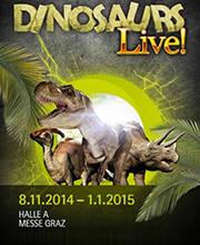 Dinosaurs Live! - Vstupenky