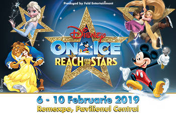 DISNEY ON ICE - REACH FOR THE STARS