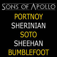 SONS OF APOLLO - Bilete ©