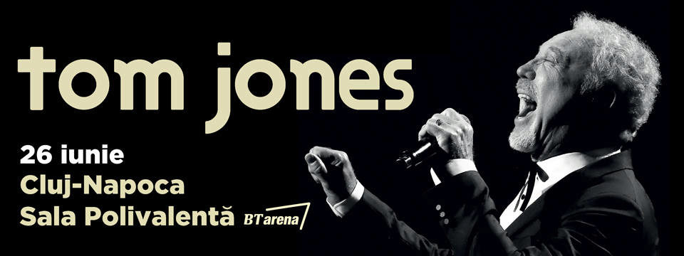 Tom Jones in concert la BT ARENA
