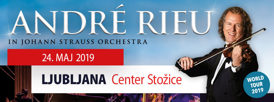 ANDRE RIEU & HIS JOHANN STRAUSS ORCHESTRA