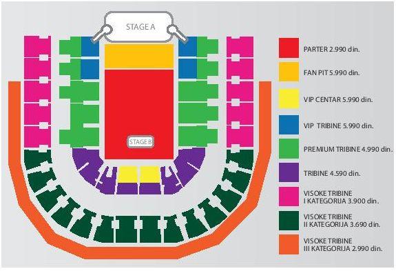 mapa arena beograd Kupite vstopnice Enrique Iglesias, Beograd ~ Štark Arena mapa arena beograd