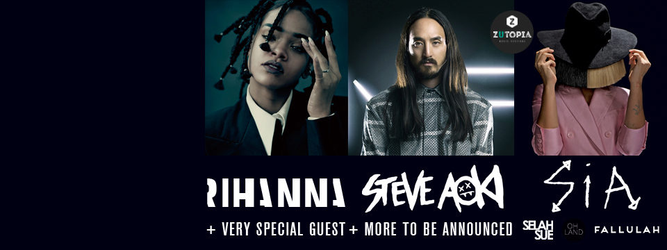 THE EVENT 2016 - RIHANNA, SIA and more!