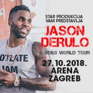 Kupi ulaznice za Jason Derulo na Eventim