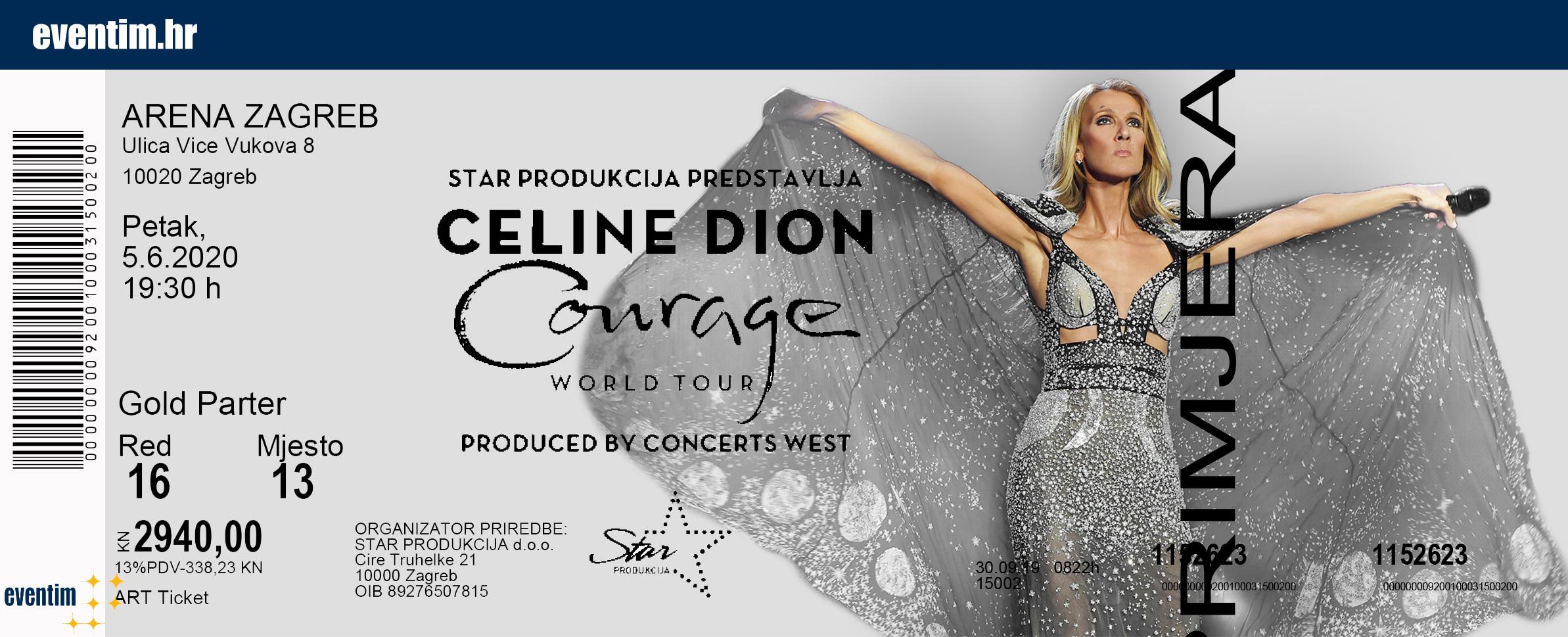 Kupite Vstopnice Za Celine Dion Na Petrol Ticket