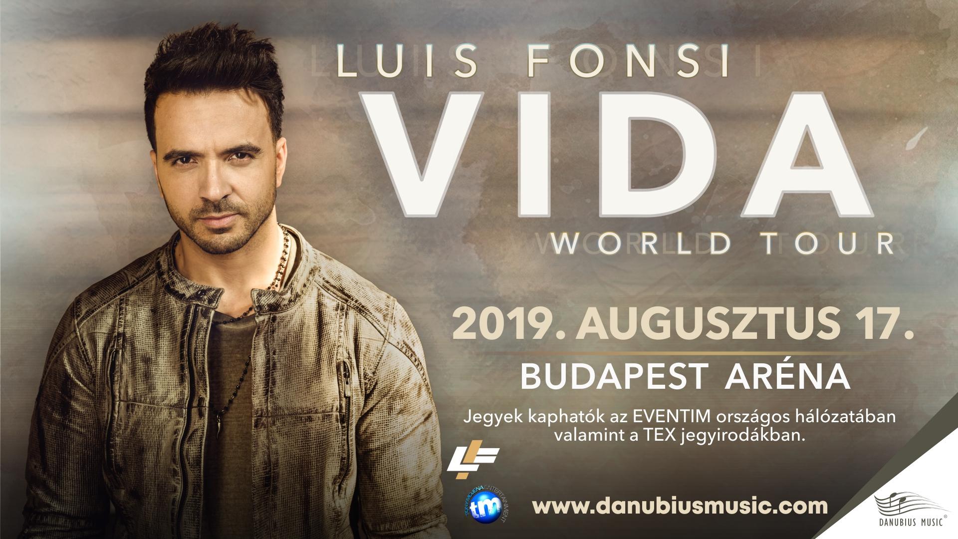 """Képtalálat a következőre: """"Budapesten koncertezik Luis Fonsi"""""""
