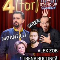 4 (FOR) STAND UP COMEDY - Tickets ©
