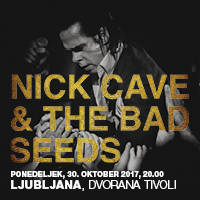 NICK CAVE & THE BAD SEEDS - Vstopnice ©