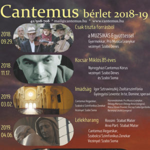 cantemus - Tickets cantemus©