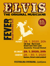 ELVIS FEVER - THE ORIGINAL MUSICIANS