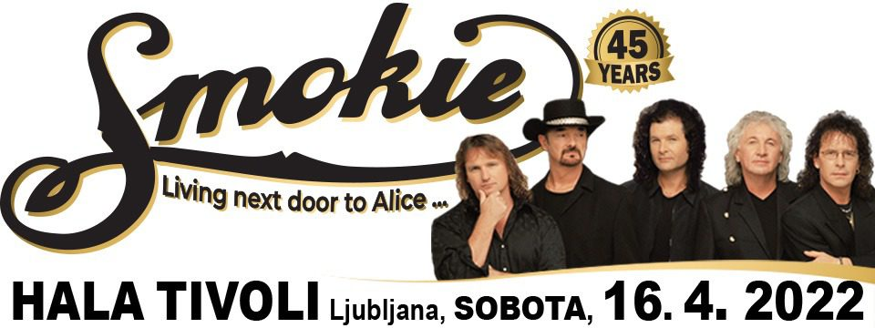 smokie2022 - Tickets