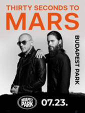 THIRTY SECONDS TO MARS koncert